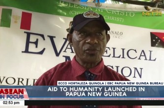 "Iglesia Ni Cristo helps hard-to-reach communities in Papua New Guinea through ""Aid to Humanity"""