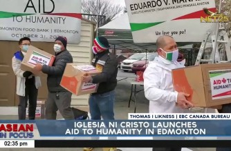 Iglesia Ni Cristo launches Aid to Humanity in Edmonton