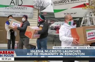 Iglesia Ni Cristo launches Aid to Humanity in Edmonton
