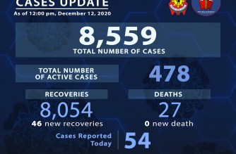 PNP reports 46 more COVID-19 recoveries