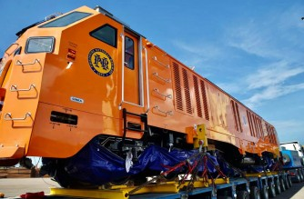 PNR unveils 18 new locomotive, passenger coaches from Indonesia