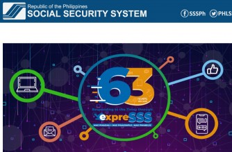 Screenshot of SSS website/Courtesy SSS