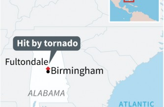 Tornado leaves one dead, several injured in Alabama