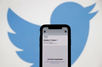 SAN ANSELMO, CALIFORNIA - JANUARY 08: The suspended Twitter account of U.S. President Donald Trump appears on an iPhone screen on January 08, 2021 in San Anselmo, California. Citing the risk of further incitement of violence following an attempted insurrection on Wednesday, Twitter permanently suspended President Donald Trump's account. (Photo Illustration by Justin Sullivan/Getty Images)