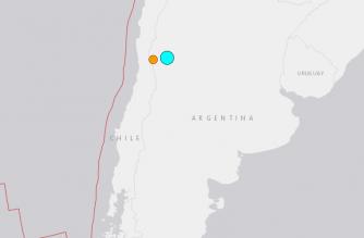 Magnitude-6.4 quake hits Argentina: USGS