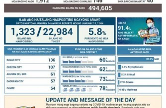 PHL COVID-19 cases reach 494,605; recoveries climb to 459,252