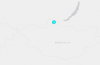 Strong quake hits Mongolia-Russia border: USGS