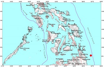 5.2-magnitude quake hits Surigao del Sur on Sunday night