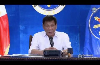 Pres. Duterte explains why he reversed IATF resolution; says UK variant infecting even kids