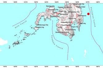 4.2-magnitude quake strikes off Davao Oriental early Wednesday