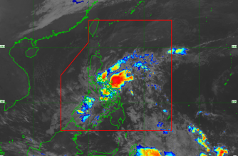 """""""Auring"""" expected to make landfall over E. Samar in six to 12 hours"""