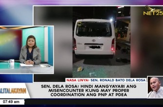 "Ex-PNP chief Sen. Dela Rosa cites possibility PNP, PDEA agents had been ""played"" by drug syndicates"