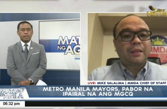 Metro Manila mayors agree to IATF proposal to place NCR under MGCQ