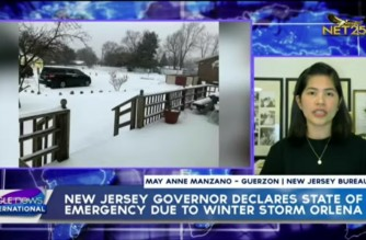 New Jersey governor declares state of emergency due to winter storm; all vaccine sites closed