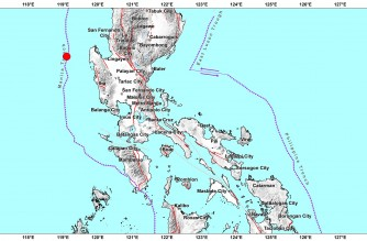 4.7-magnitude quake strikes off Pangasinan