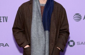 """(FILES) In this file photo Steven Yeun attends the 2020 Sundance Film Festival - """"Minari"""" Premiere at Library Center Theater on January 26, 2020 in Park City, Utah. - This year, """"Minari"""" is the subject of much hand-wringing, with """"Farewell"""" director Lulu Wang tweeting that she has """"not seen a more American film"""" than the acclaimed Korean immigrant family drama.  Of course, being in the foreign language section at last year's Globes did not harm South Korea's """"Parasite,"""" which went on to win the biggest prize of all -- the best picture Oscar.   Can """"Minari"""" repeat the trick? (Photo by Cindy Ord / GETTY IMAGES NORTH AMERICA / AFP)"""