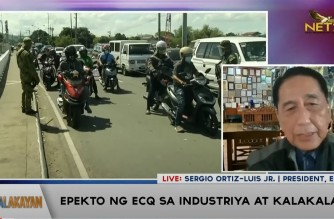 ECOP president says ECQ extension would be too much for economy, would lead to more hungry people