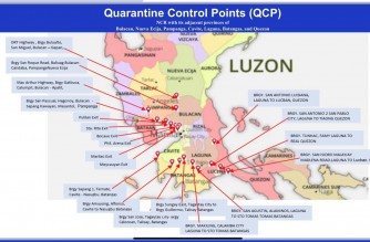 PNP sets up 20 quarantine control points within NCR Plus bubble, borders with nearby provinces