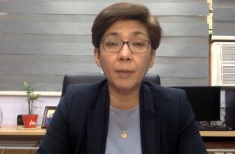 Health Undersecretary Maria Rosario Vergeire holds a press briefing on Tuesday, March 2 a day after the start of the vaccine rollout using the Sinovac vaccines (Screenshot pf DOH Facebook/Courtesy DOH)