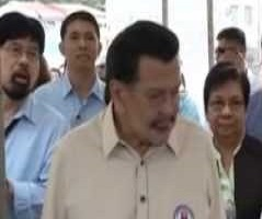 "Erap off ventilator but still requires ""high flow of oxygenation,"" son says"
