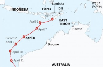 Cyclone that ravaged Indonesia, East Timor set to hit Australia
