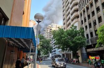 Fire breaks out at Salcedo Village in Makati