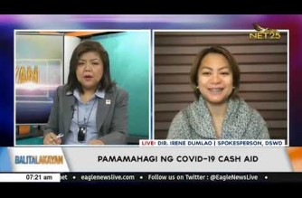 DSWD reports generally orderly cash aid distribution in ECQ areas; says grievance desk available to receive complaints