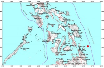4.7-magnitude quake strikes off Surigao del Norte early Thursday