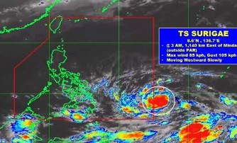 PAGASA: Cloudy skies, isolated rain showers expected today