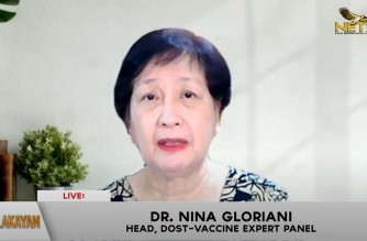 Dr. Nina Gloriani, head of the Philippine vaccine expert panel. advises Filipinos not to let their guard down amid presence of various COVID variants in PHL (Eagle News Service)