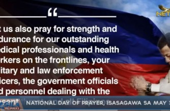 """Pres. Duterte asks Filipinos to """"pray as one"""" on May 30 to end COVID pandemic"""