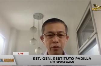 WATCH: Interview with IATF spokesperson Ret. Gen. Restituto Padilla: Balitalakayan- June 21, 2021