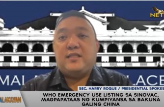 Palace: PHL can now borrow funds from WB, ADB to pay for Sinovac after WHO emergency use listing