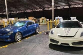 Customs bureau seizes P20 million worth of smuggled luxury vehicles
