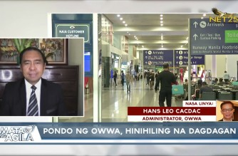 WATCH: Interview with OWWA Administrator Cacdac: Mata ng Agila – June 4, 2021