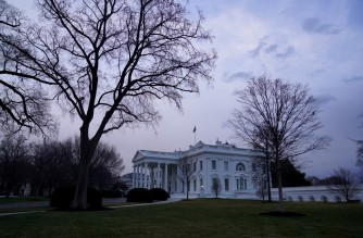 WASHINGTON, DC - JANUARY 16: A view of the White House on January 16, 2021 in Washington, DC. After last week's riots at the U.S. Capitol Building, the FBI has warned of additional threats in the nation's capital and in all 50 states. According to reports, as many as 25,000 National Guard soldiers will be guarding the city as preparations are made for the inauguration of Joe Biden as the 46th U.S. President.   Eric Thayer/Getty Images/AFP (Photo by Eric Thayer / GETTY IMAGES NORTH AMERICA / Getty Images via AFP)