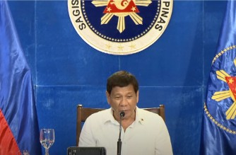 """Pres. Duterte greets the Iglesia Ni Cristo on its 107th anniversary, says the INC served as an """"inspiration"""" to Filipinos"""