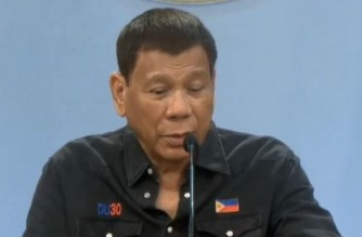 President Duterte to LGUs: Don't make people line up under the rain, in flooded areas for vaccination