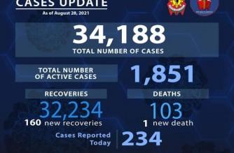 PNP logs 234 more COVID-19 cases
