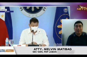 WATCH: Interview with PDP-Laban Sec. Gen Atty. Melvin Matibag – Balitalakayan