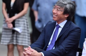 HOLLYWOOD, CA - NOVEMBER 27: Dr. Patrick Soon-Shiong attends Quincy Jones' Hand And Footprint ceremony at The TCL Chinese Theatre IMAX on November 27, 2018 in Hollywood, California.   Alberto E. Rodriguez/Getty Images/AFP (Photo by Alberto E. Rodriguez / GETTY IMAGES NORTH AMERICA / Getty Images via AFP)