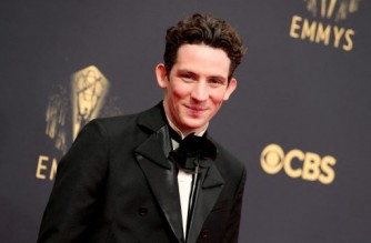 LOS ANGELES, CALIFORNIA - SEPTEMBER 19: Josh O'Connor attends the 73rd Primetime Emmy Awards at L.A. LIVE on September 19, 2021 in Los Angeles, California.   Rich Fury/Getty Images/AFP (Photo by Rich Fury / GETTY IMAGES NORTH AMERICA / Getty Images via AFP)