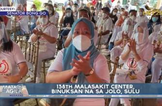 138th Malasakit Center opened in Jolo, Sulu