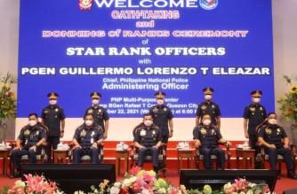 PNP announces promotion of five senior police officials