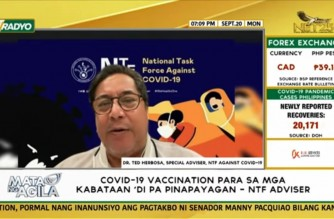 Interview with Dr. Ted Herbosa, NTF Special Adviser, on pilot implementation of face-to-face classes