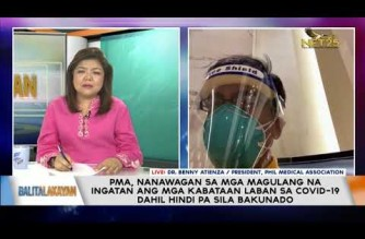 Interview with PHL Medical Assn. president on situation of hospitals, medical frontliners amid rising Delta cases