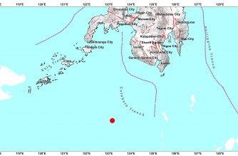 4.8-magnitude quake strikes off Sulu early Friday, Sept. 24