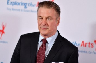 """(FILES) In this file photo taken on April 12, 2019 actor Alec Baldwin attends the 'Exploring the Arts' 20th anniversary Gala at Hammerstein Ballroom in New York City. - US actor Alec Baldwin fired a prop gun that killed a cinematographer and wounded the director on a film set in New Mexico, US law enforcement officers said October 21, 2021. The incident happened on the set of """"Rust"""" in the southwestern US state, where Baldwin is playing the lead in a 19th-century western. No charges have been filed over the incident, which is being investigated. (Photo by Angela Weiss / AFP)"""