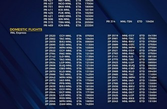 MIAA releases list of operational commercial flights for Wednesday, Oct. 27