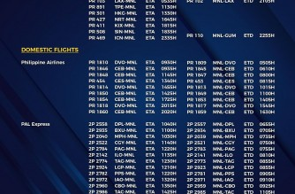 MIAA releases list of operational commercial flights for Thursday, Oct. 28